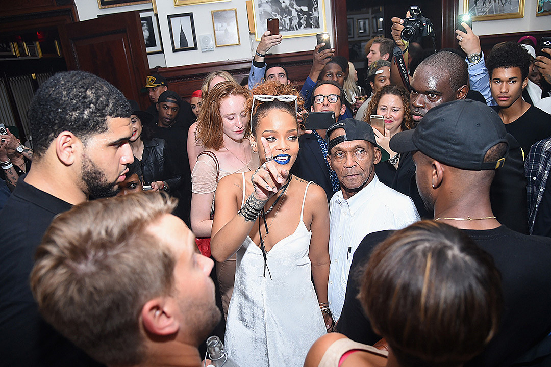 Rihanna Party At The New York EDITION