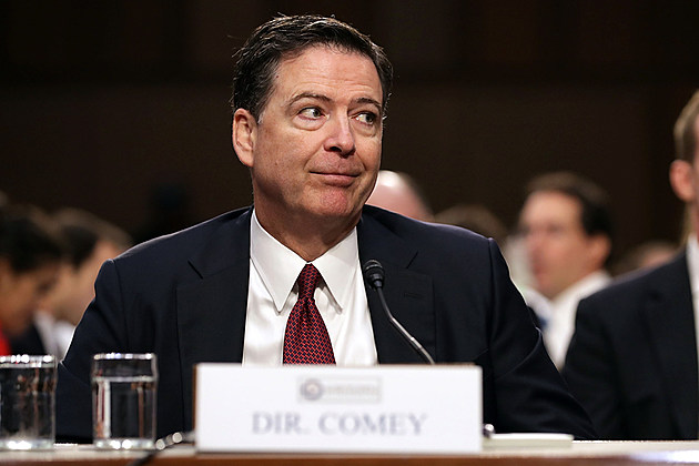 James Comey funny face