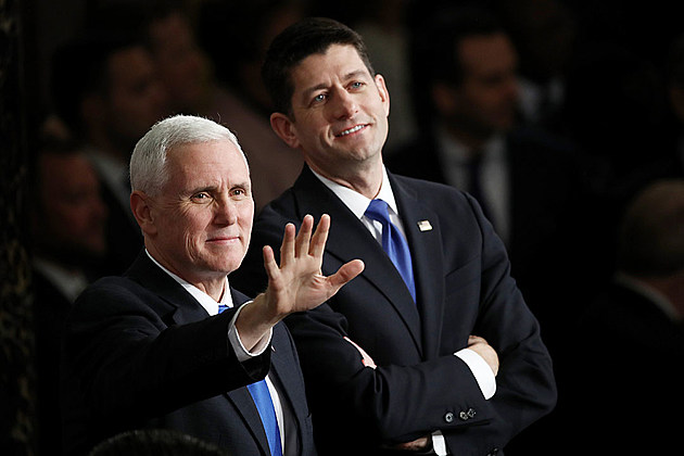 Mike Pence, Paul Ryan