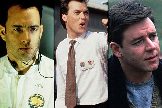 Tom Hanks, Michael Keaton, Russell Crowe