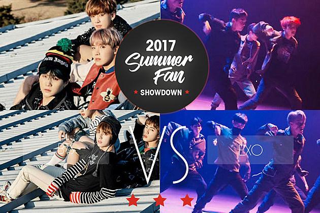 BTS vs. EXO Summer Fan Showdown Round 2
