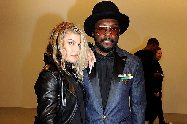 Fergie and Will.i.am of Black Eyed Peas