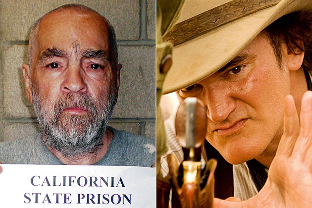 Charles Manson and Quentin Tarantino