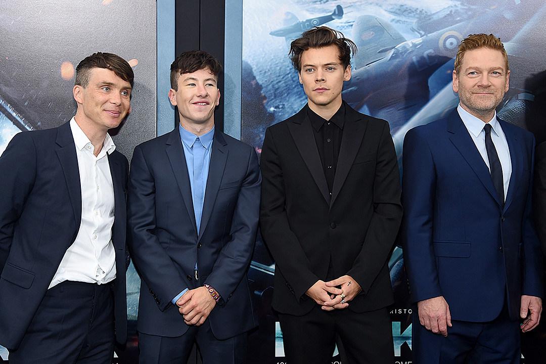 Harry Styles New York Dunkirk Movie Premiere