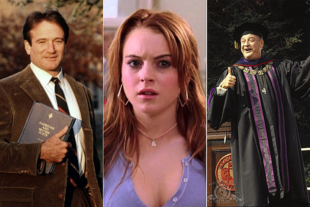 'Dead Poets Society,' 'Mean Girls,' 'Back to School'