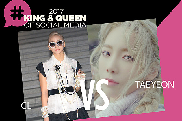 CL Taeyeon Queen of Social Media 2017 PopCrush