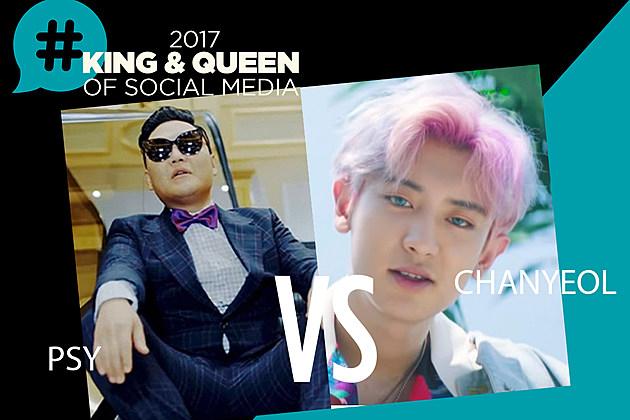 PSY Chanyeol King Queen Social Media 2017