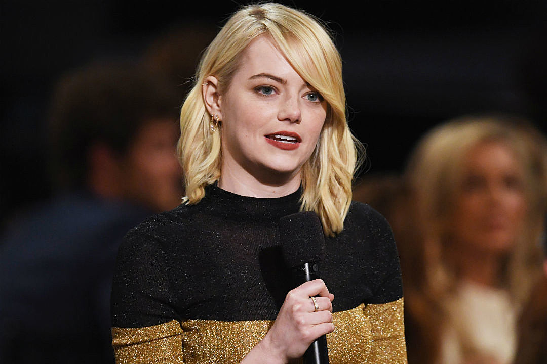 Emma Stone Says Male Co-Stars Have Taken Pay Cuts for Gender Equality