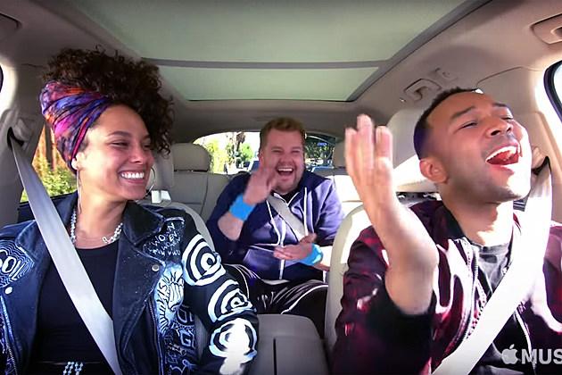 Alicia Keys John Legend Carpool Karaoke