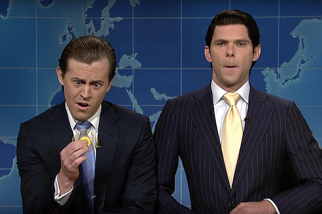 Eric Trump and Don Jr on Weekend Update