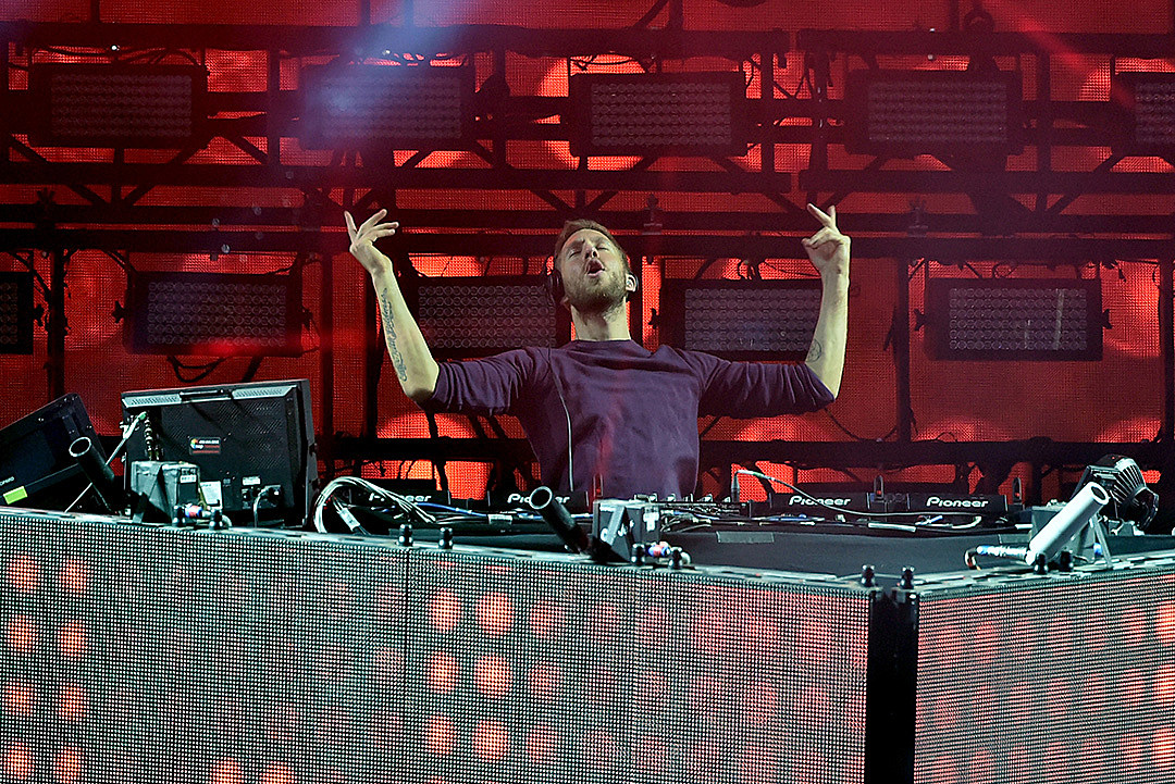 Calvin Harris at 2016 Coachella