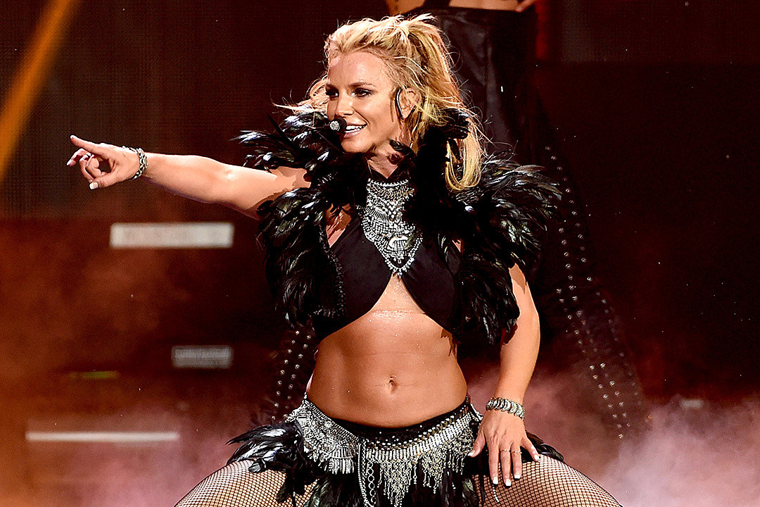 Britney Spears at 2016 iHeartRadio Music Festival