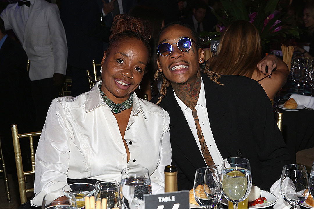 Wiz Khalifa and his Mother