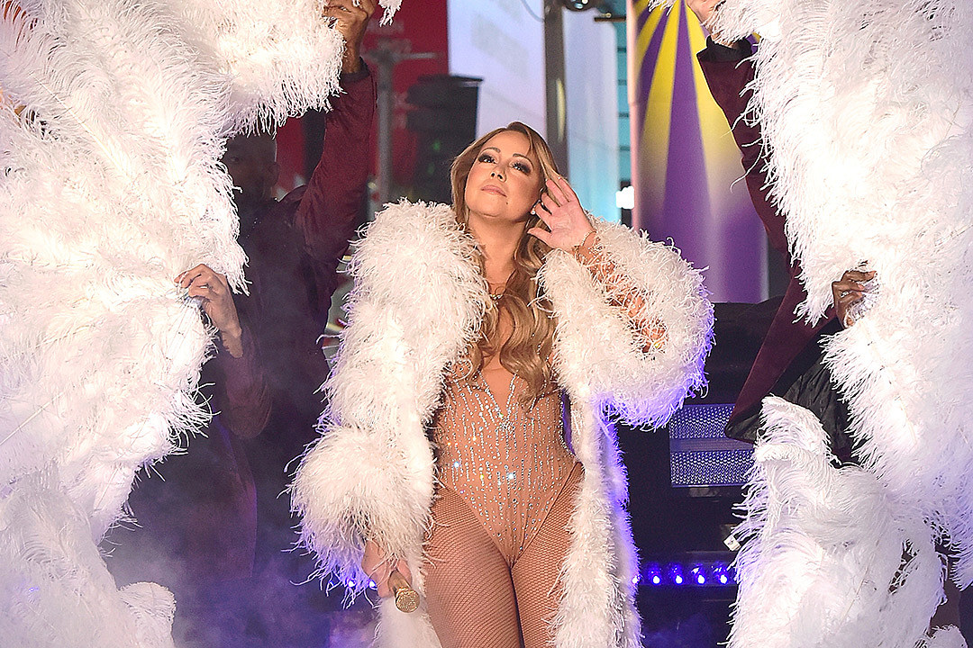 Mariah Carey on New Years Eve In Times Square