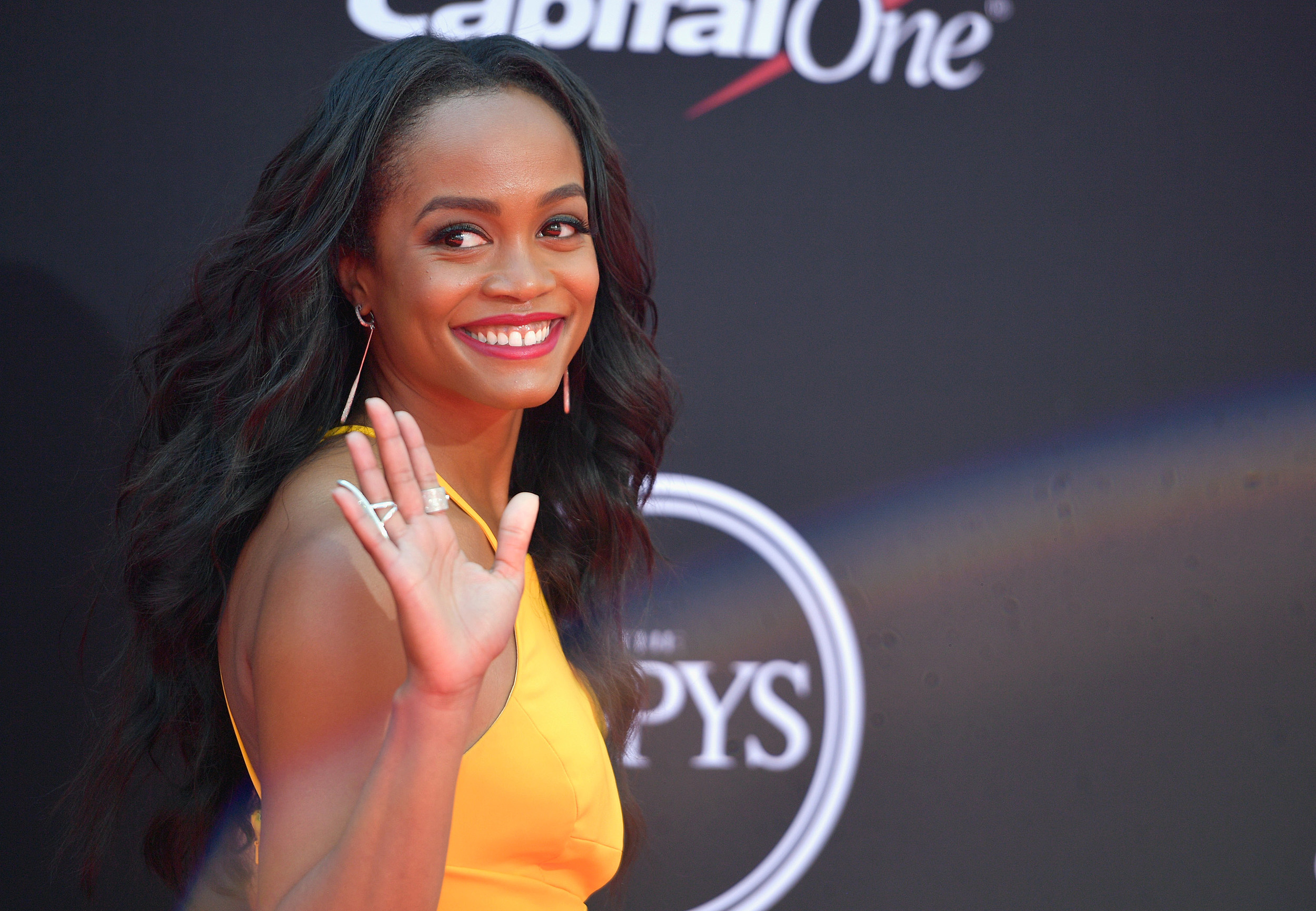 Rachel Lindsay at the 2017 ESPYS