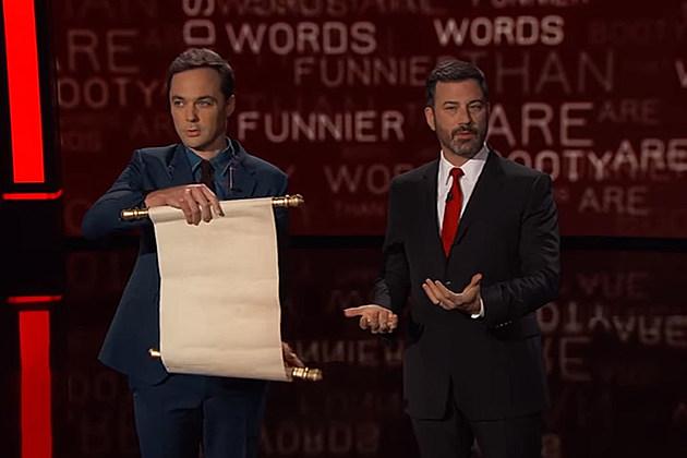 Jim Parsons, Jimmy Kimmel Live