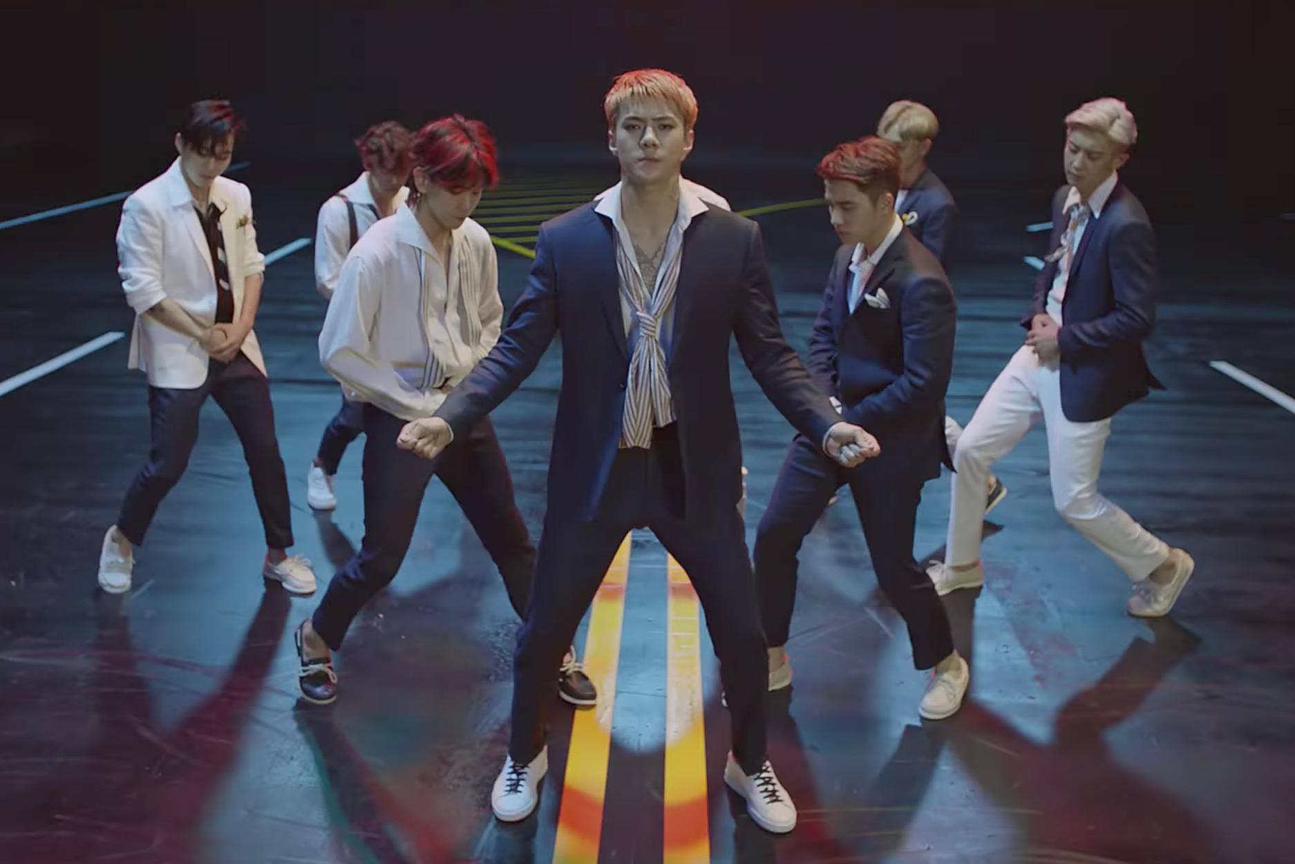 """EXO in """"Ko Ko Bop"""" Video"""