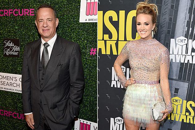 Tom Hanks, Carrie Underwood