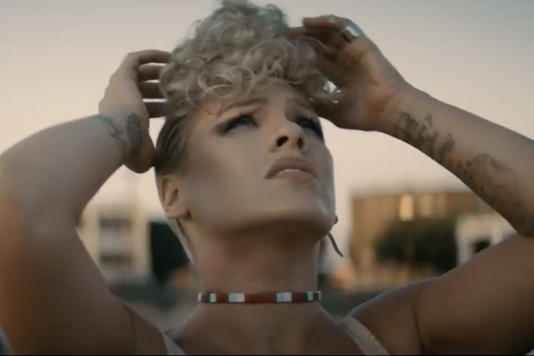 Pink Joins Fellow Misfits to Dance Through City Streets in 'What About Us' Video