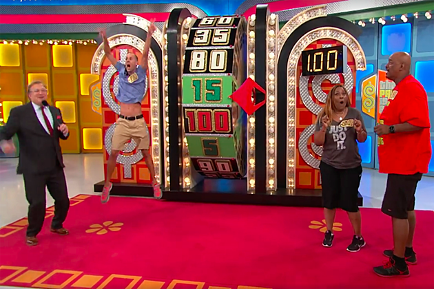 Price Is Right crazy moment