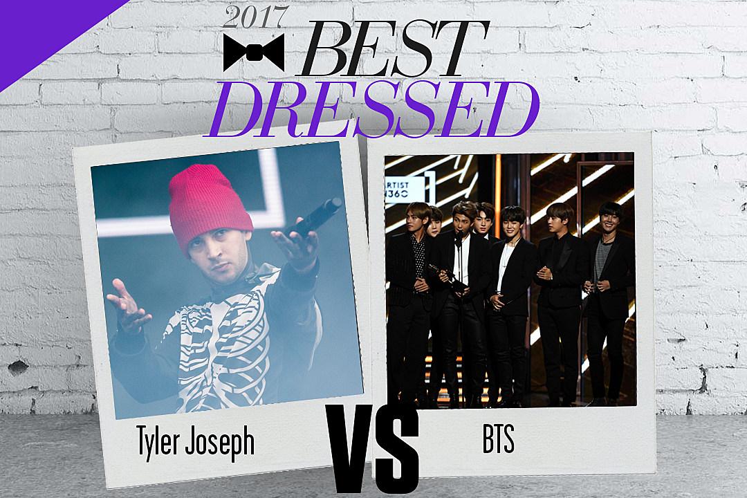 BTS vs. Tyler Joseph: Best Dressed King 2017 Finals [Round 3]