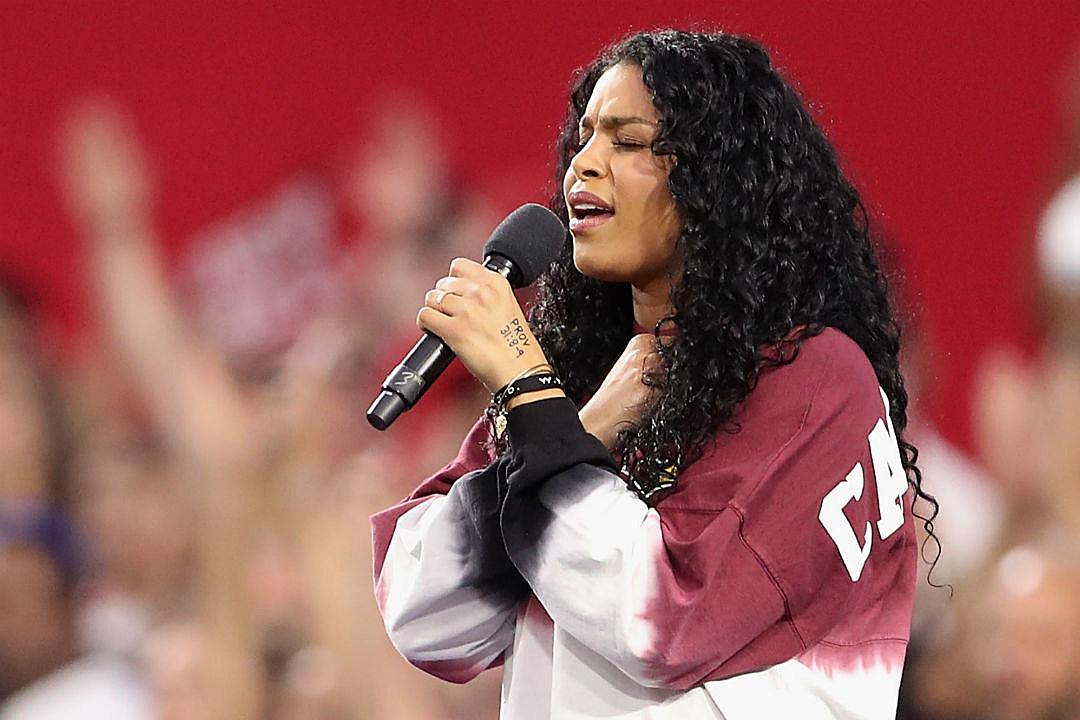 Jordin Sparks Supports NFL Protests During National Anthem With Secret Message