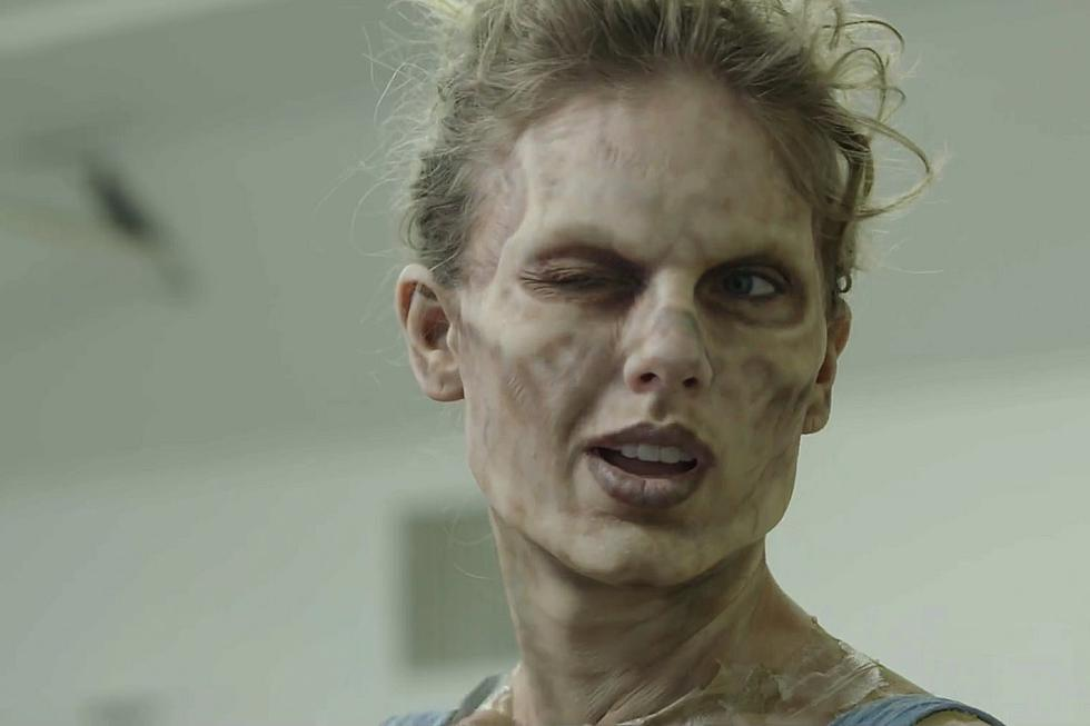 taylor swift s zombie transformation is terrifying