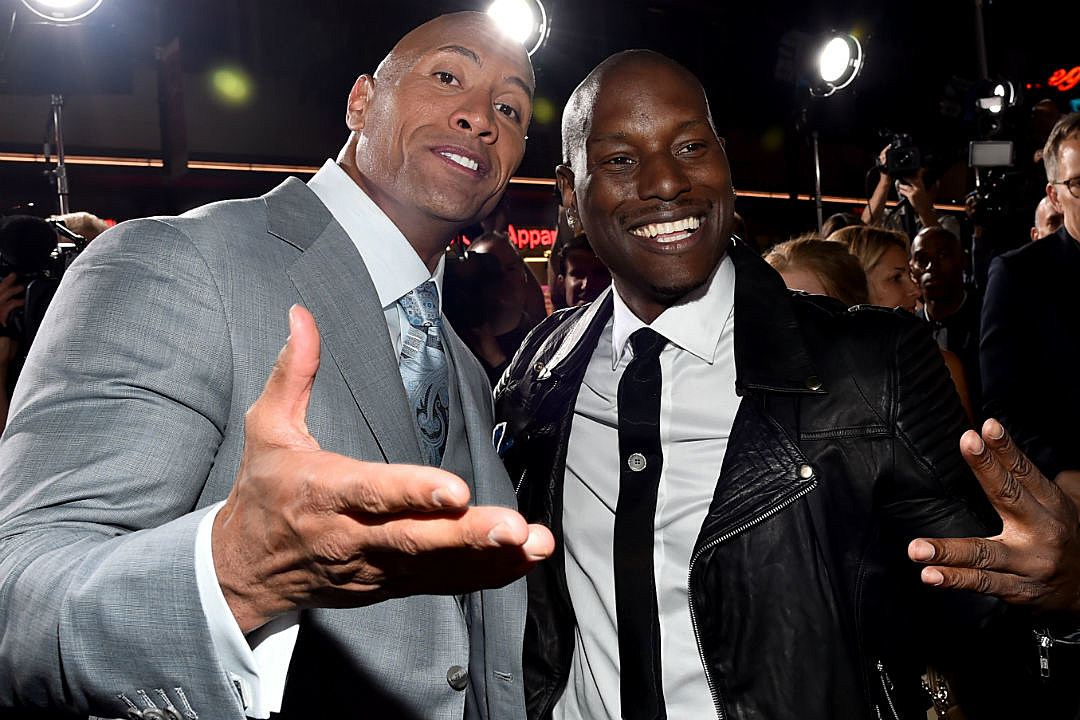 The Rock Tyrese Feud