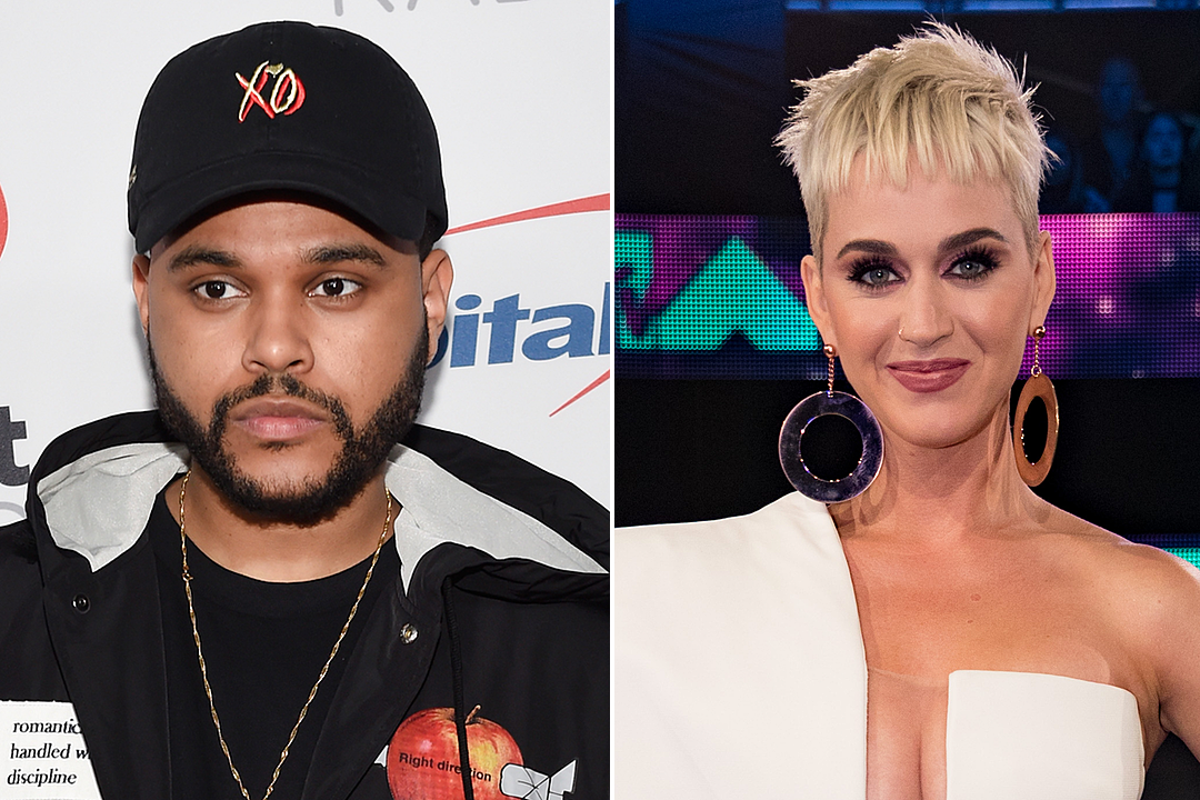 Katy Perry + The Weeknd Meet for Dinner in West Hollywood