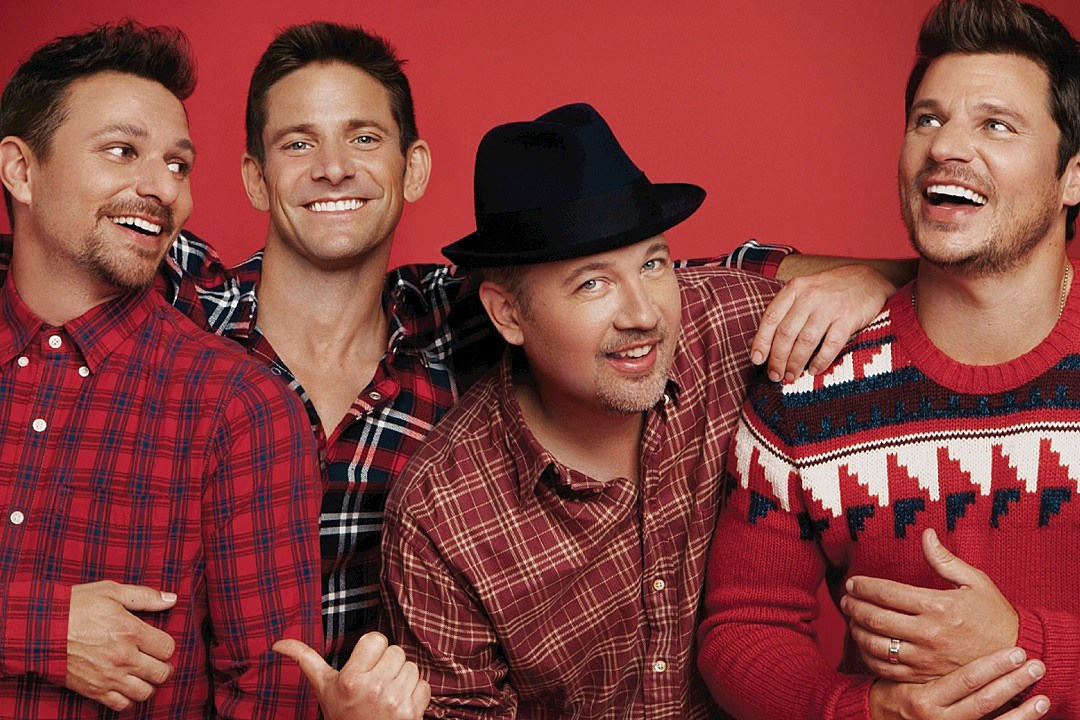 Love 98 Degrees' New Holiday Album? Thank Drew Lachey