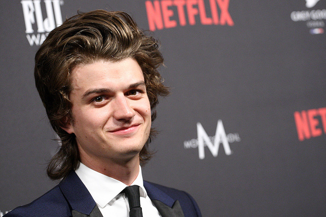Stranger Things' Joe Keery Says He'll Shave Off His Perfect Hair if David Harbour Wins Golden Globe