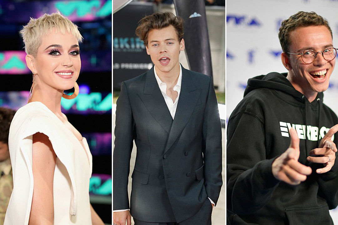 Katy Perry and Harry Styles Called Out by Logic on New Song '44 More'
