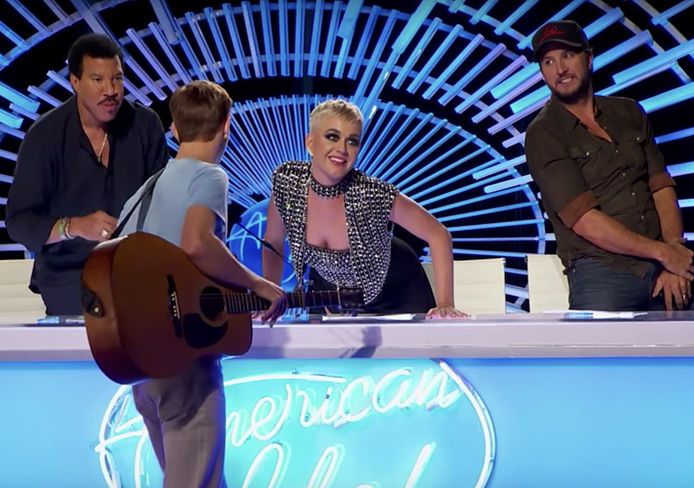 Luke Bryan Sides With Katy Perry Over Controversial American Idol Kiss