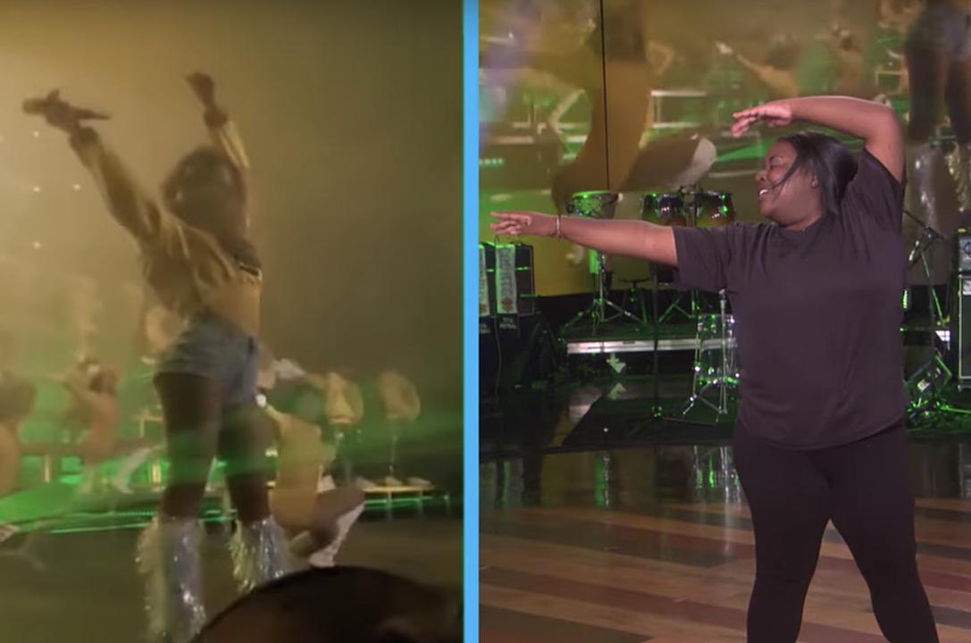 Watch Briyonce Nail Beychella Dance Moves on 'Ellen'