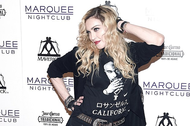 Madonna Hosts Rebel Heart Concert After Party At Marquee Nightclub