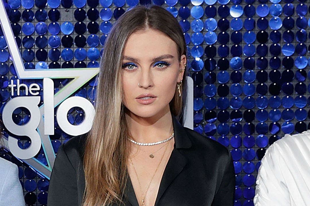 Whoa, Perrie Edwards of Little Mix Has a Million Freckles Under Her Makeup (PHOTO)