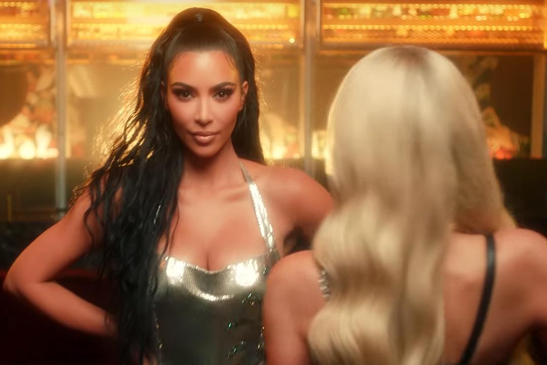 Kim Kardashian Stars in Paris Hilton's Music Video