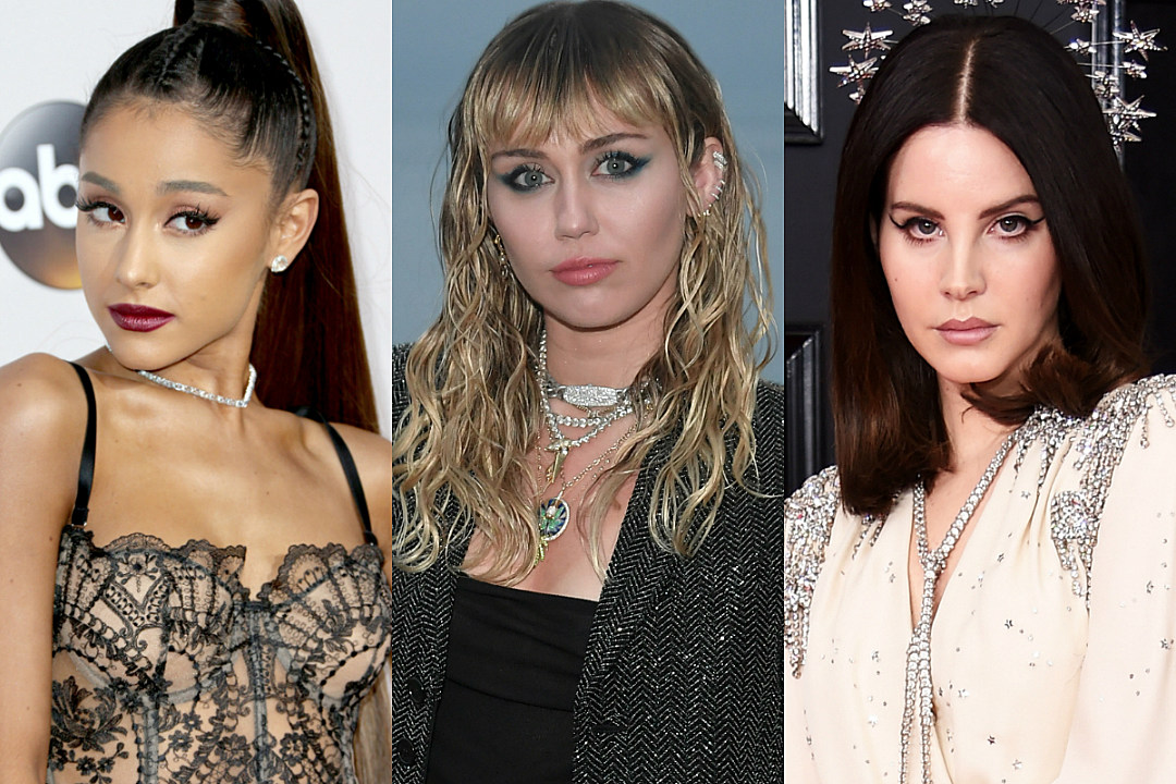 Are Ariana Grande, Miley Cyrus and Lana Del Rey Collaborating on a Song Together?