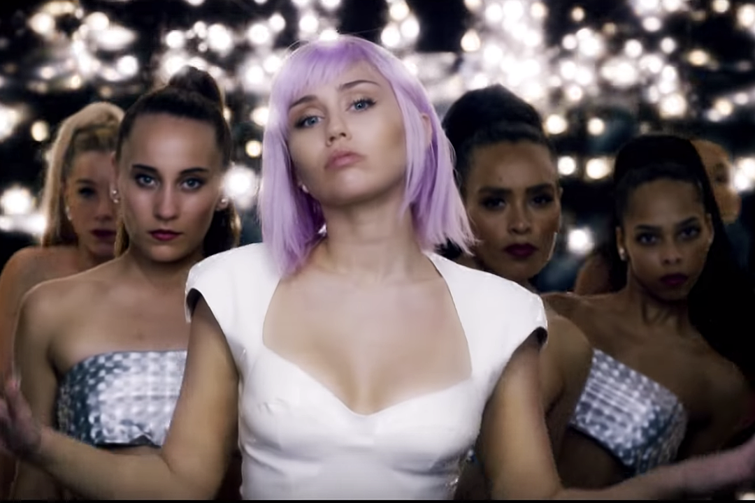 Miley Cyrus Is 'Black Mirror's Ashley O in Official 'On a Roll' Video: Watch