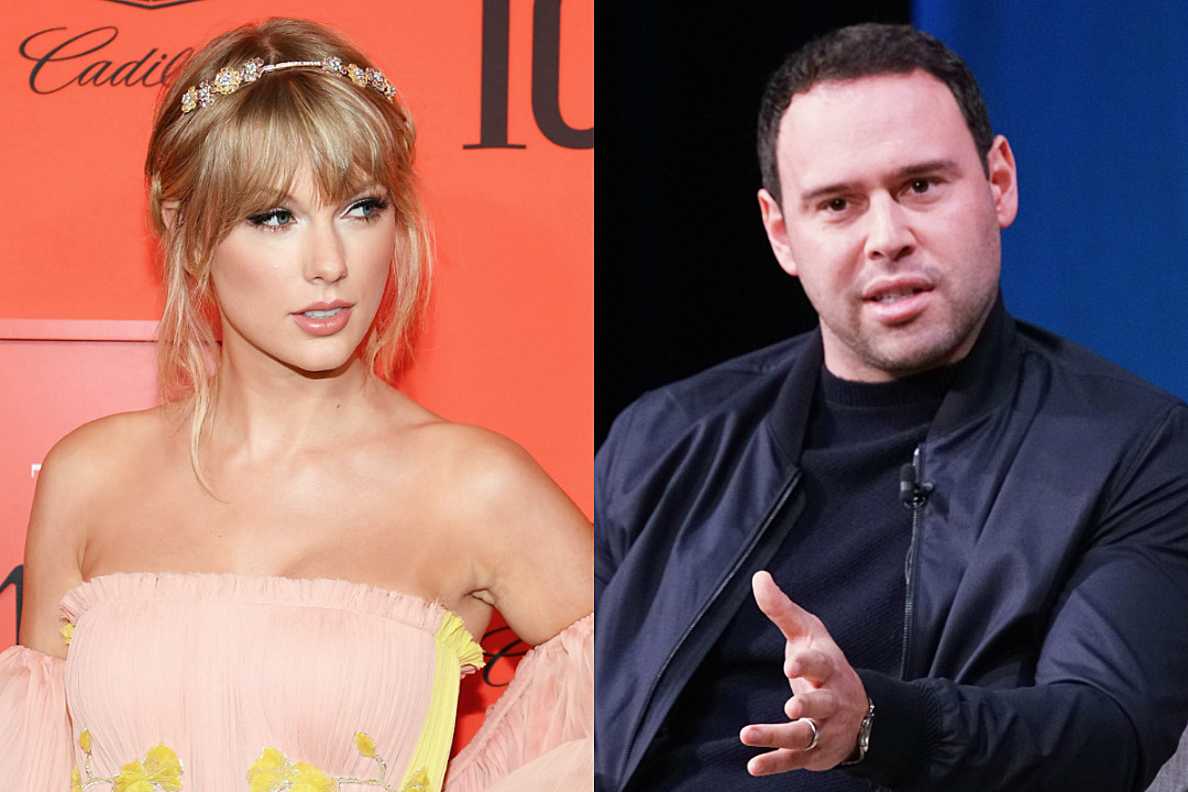 Taylor Swift Fans Are Reportedly Sending Death Threats to Scooter Braun