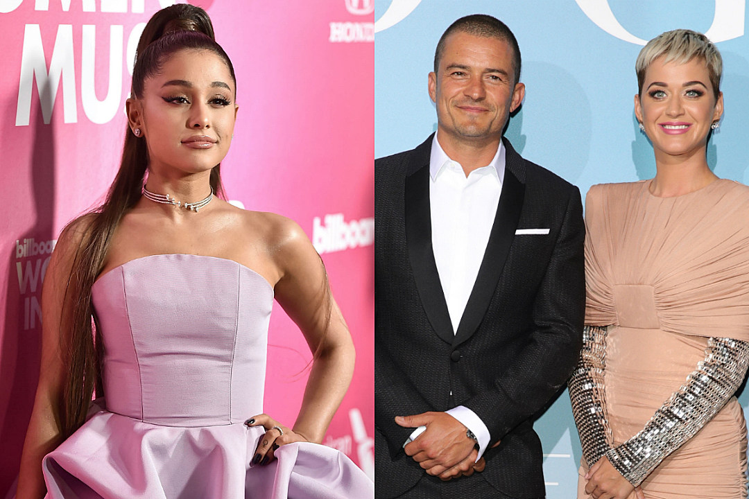Katy Perry Gushes Over Ariana Grande After She Paid For Her and Orlando Bloom's Meal
