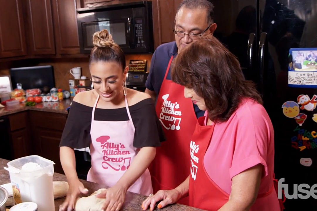 Ally Brooke Cooks Traditional Mexican Food With Her Family in Exclusive Clip: Watch