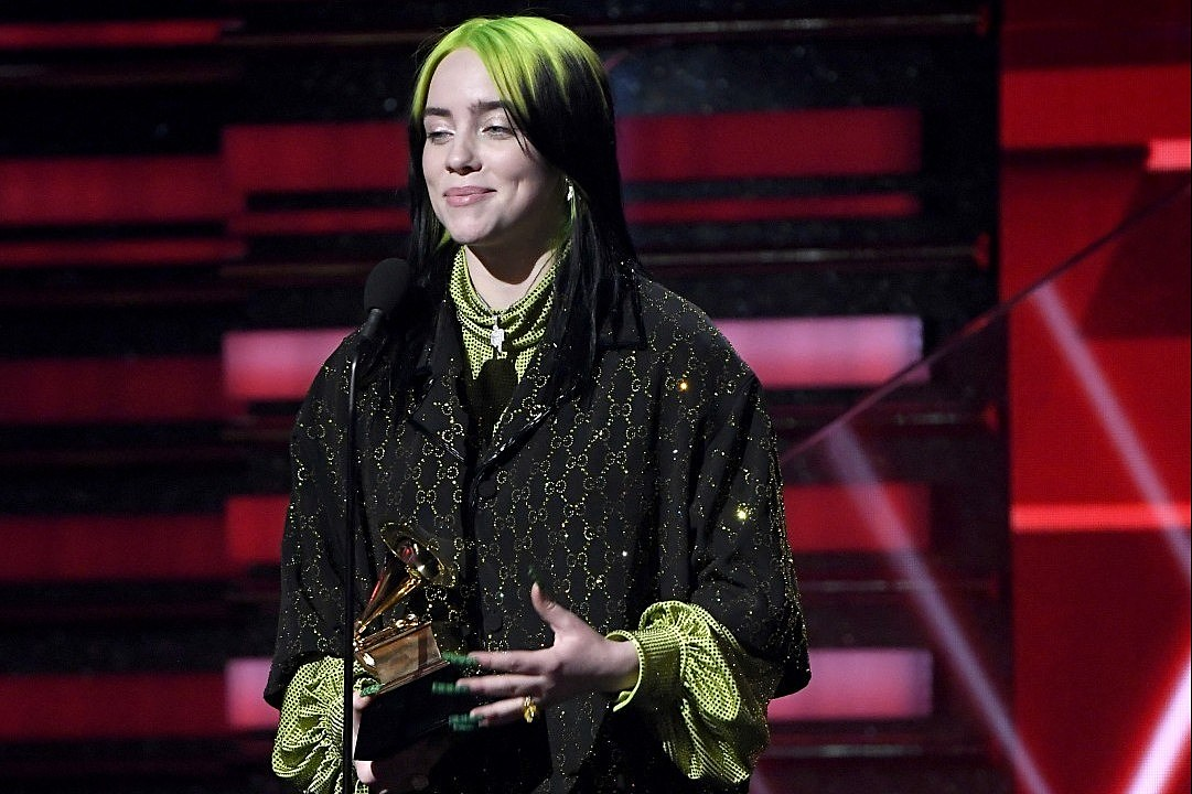 Billie Eilish Says Fans Are the 'Only Reason We're Here at All' During Best New Artist Grammys Win Speech