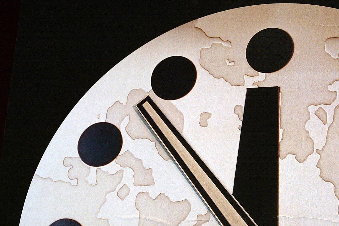 The Doomsday Clock Just Moved 100 Seconds to Midnight: Here's What That Means