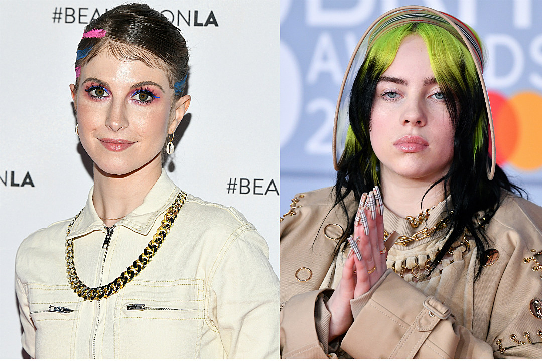 Hayley Williams Defends Billie Eilish After Singer Says Internet Is Ruining Her Life